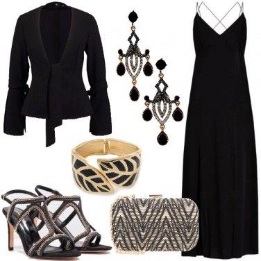 Outfit Prezioso oro nero