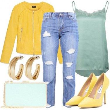 Outfit Menta e limone