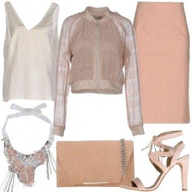 Outfit I toni del cipria