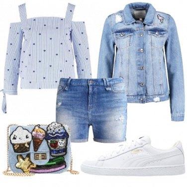 Outfit Romantico jeans