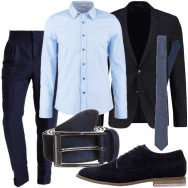 Outfit Tutto in blu