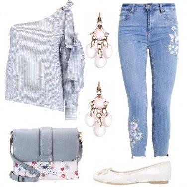 Outfit Romantica ma moderna