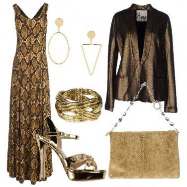 Outfit Una donna tutta d\'oro