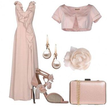 Outfit Come una nuvola rosa