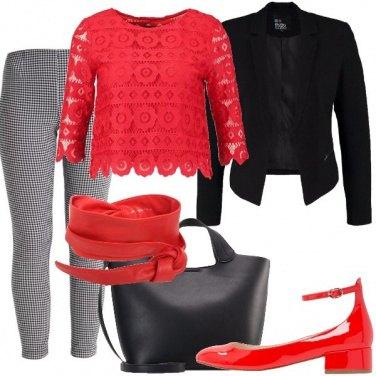 Outfit Pizzi e quadretti