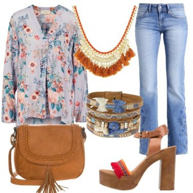 Outfit Boho party