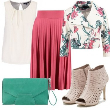 Outfit Colore in primo piano