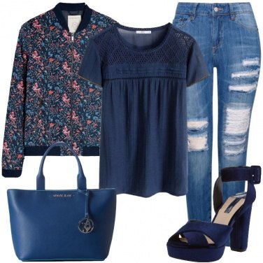 Outfit Casual con un tocco elegante