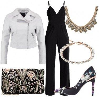 Outfit Fiori pastello