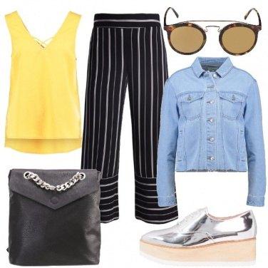 Outfit Easy e trendy nel tempo libero