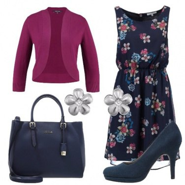 Outfit Romantica in blue