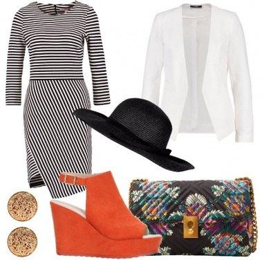 Outfit Passeggiata al mare con il cappello