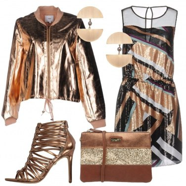 Outfit Brillanti al party