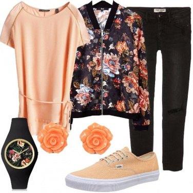 Outfit Passione per il floreale