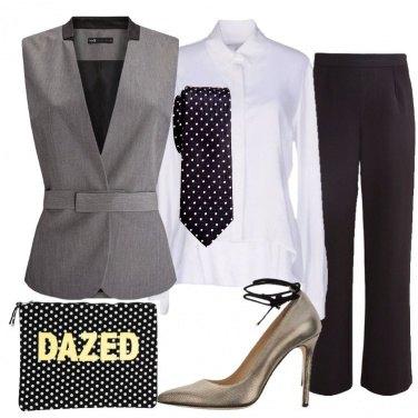 Outfit Mannish accattivante