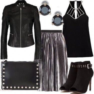 Outfit Rock plissettato