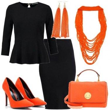 Outfit Dettagli arancio