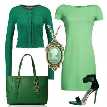 Outfit Tutto in verde