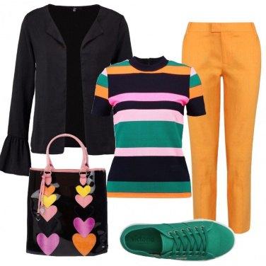 Outfit Il gioco dei colori