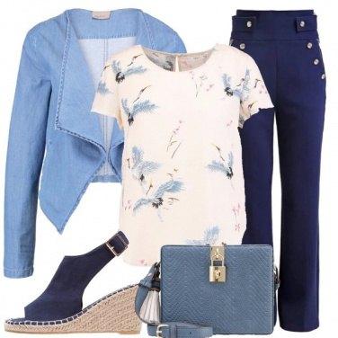 Outfit Ali blu
