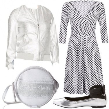Outfit Anni \'50 in silver