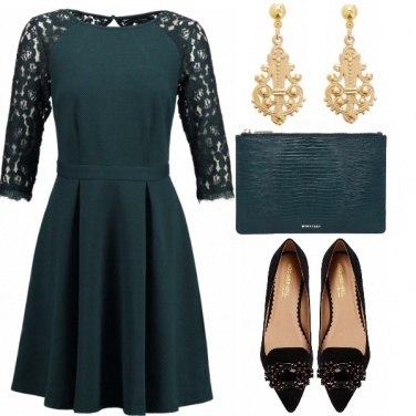 Outfit Evergreen elegance