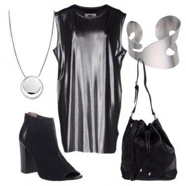 Outfit Laminato di sera