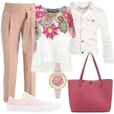 Outfit Adoro i fiori