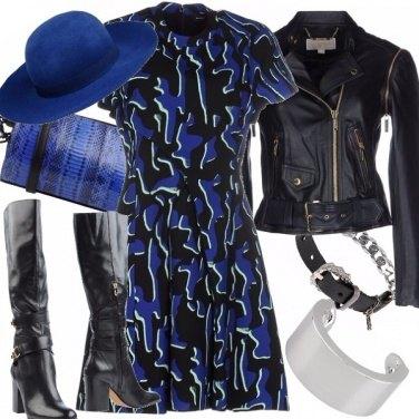 Outfit Un po\' di rock nel bon ton