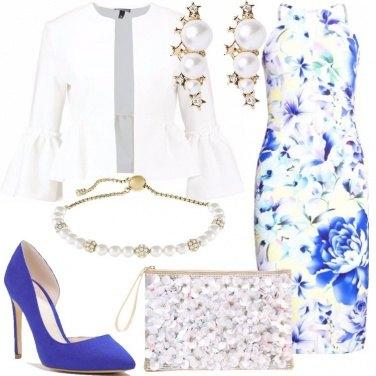 Outfit Perle e fiori al matrimonio