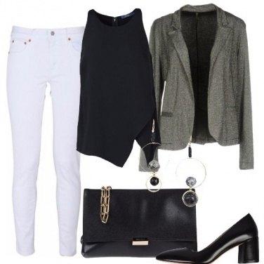 Outfit La giacca lamé