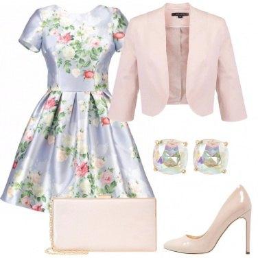 Outfit L\'invitata più elegante