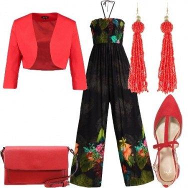 Outfit Jumpsuit floreale