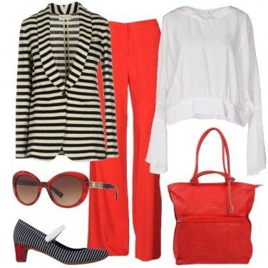 Outfit Un tacco comodo