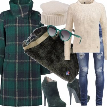 Outfit W l\'inverno green