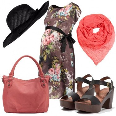 Outfit Fiorato premaman