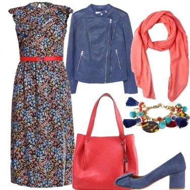 Outfit L\'abito fiorito