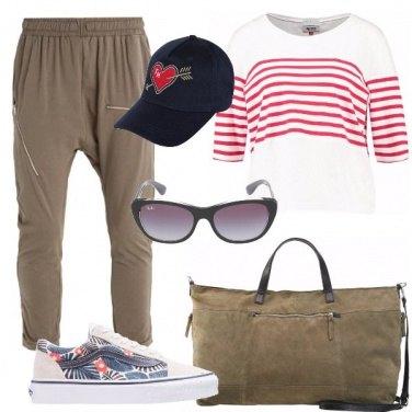 Outfit Comoda per il viaggio