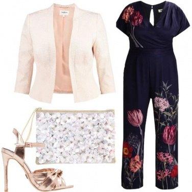 Outfit Fiori raffinati