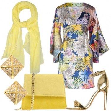 Outfit Fiori da passarella
