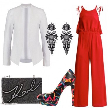 Outfit Invitata in jumpsuit