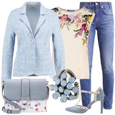 Outfit Una giornata floreale