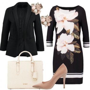 Outfit Fiori chic