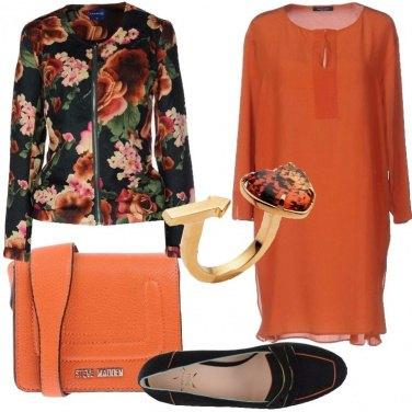 Outfit Fiori di seta