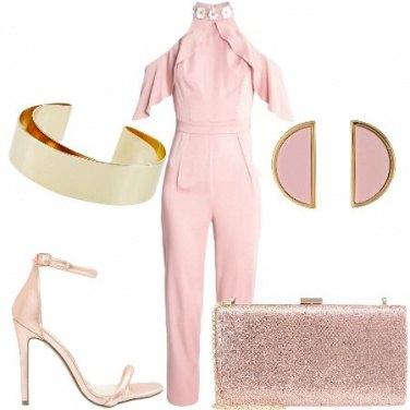 Outfit L\'invitata in rosa