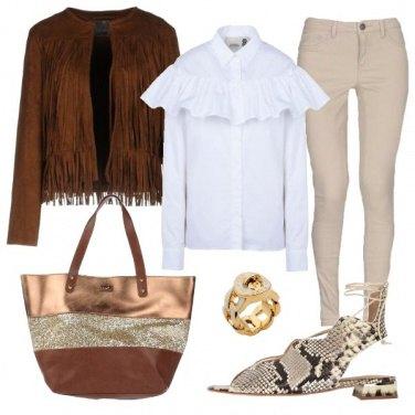 Outfit Il sandalo che attira l\'attenzione