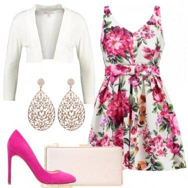 Outfit Fiori per una Petite