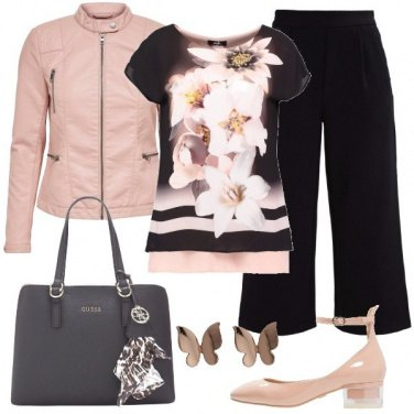 Outfit Pantaloni culotte