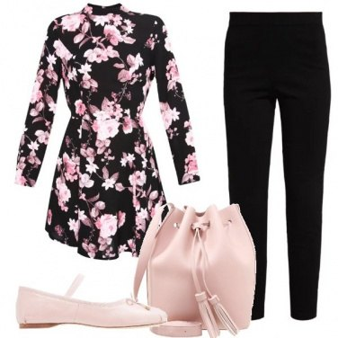Outfit Dolcezza floreale