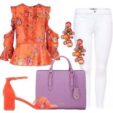Outfit Ispirazioni in arancio